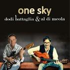 AL DI MEOLA Dodi Battaglia / Al Di Meola : One Sky album cover