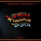 AL DI MEOLA Friday Night in San Francisco (with  John McLaughlin and Paco de Lucia) album cover
