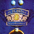 AL DI MEOLA Pursuit of Radical Rhapsody album cover