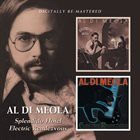 AL DI MEOLA Splendido Hotel + Electric Rendezvous album cover