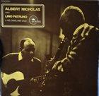 ALBERT NICHOLAS Albert Nicholas in Milan album cover