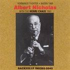 ALBERT NICHOLAS Albert Nicholas/Henry Chaix : Baden 1969 album cover
