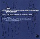 ALBERT NICHOLAS The New Orleans-Chicago Connection album cover