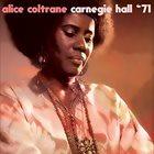 ALICE COLTRANE Carnegie Hall '71 album cover