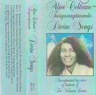 ALICE COLTRANE Divine Songs album cover