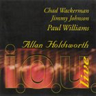 ALLAN HOLDSWORTH i. o. u. Live album cover