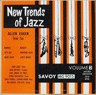 ALLEN EAGER New Trends of Jazz Volume 2 album cover