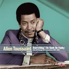 ALLEN TOUSSAINT Everything I Do Gonh Be Funky album cover