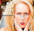 ALLISON ADAMS TUCKER WANDERlust album cover