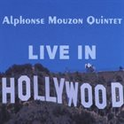 ALPHONSE MOUZON Live in Hollywood album cover