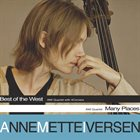 ANNE METTE IVERSEN Best of the West + Many Places album cover