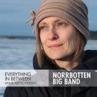 ANNE METTE IVERSEN Everything In Between (Norrbotten Big Band) album cover