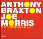 ANTHONY BRAXTON 4 Improvisations album cover