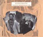 ANTHONY BRAXTON Quartet (Birmingham) 1985 album cover