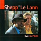 ARCHIE SHEPP Live In Paris album cover