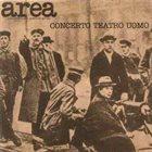 AREA Concerto Teatro Uomo album cover
