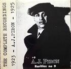 ARMAND PIRON A. J. Piron's New Orleans Orchestra album cover