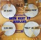 ART BLAKEY Gretsch Drum Night at Birdland Volume 2 album cover