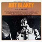 ART BLAKEY Live Messengers album cover