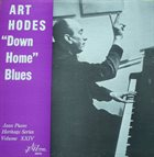 ART HODES Down Home Blues album cover
