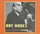 ART HODES Recollections from the Past: Chicago, Vol. 1 album cover