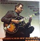 ART JOHNSON Solo Jazz Guitar album cover