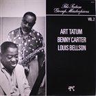 ART TATUM Art Tatum / Benny Carter / Louis Bellson : The Tatum Group Masterpieces Vol. 2 album cover