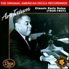 ART TATUM Classic Early Solos (1934-1937) album cover