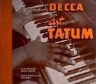 ART TATUM Decca Presents Art Tatum album cover