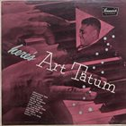 ART TATUM Here's Art Tatum album cover