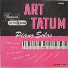 ART TATUM Piano Solos Vol. 2 album cover