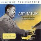 ART TATUM Piano Starts Here / Live At The Shrine album cover
