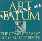 ART TATUM The Best of the Complete Pablo Solo Masterpieces album cover