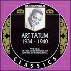 ART TATUM The Chronological Classics: Art Tatum 1934-1940 album cover