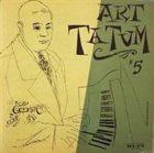 ART TATUM The Genius of Art Tatum #5 album cover