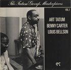 ART TATUM Art Tatum / Benny Carter / Louis Bellson : The Tatum Group Masterpieces Vol. 1 album cover