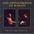 AXEL ZWINGENBERGER Axel Zwingenberger und Jay McShann live in Wien : Swing The Boogie! album cover