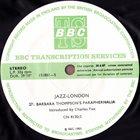 BARBARA THOMPSON Barbara Thompson's Paraphernalia / The Martin Taylor Trio : Jazz-London 27 / 28 album cover