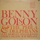 BENNY GOLSON Benny Golson And The Philadelphians album cover