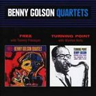 BENNY GOLSON Free / Turning Point album cover