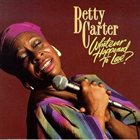 BETTY CARTER Whatever Happened To Love? album cover
