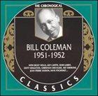 BILL COLEMAN The Chronological Classics: Bill Coleman 1951-1952 album cover
