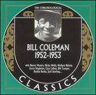 BILL COLEMAN The Chronological Classics: Bill Coleman 1952-1953 album cover