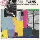 BILL EVANS (PIANO) Live In Paris, Vol.1 album cover