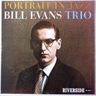BILL EVANS (PIANO) Portrait In Jazz album cover
