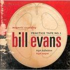 BILL EVANS (PIANO) Practice Tape No. 1 album cover