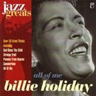 BILLIE HOLIDAY All of Me album cover
