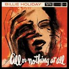 BILLIE HOLIDAY All or Nothing at All, Volume 1 album cover