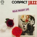 BILLIE HOLIDAY Billie Holiday Live album cover