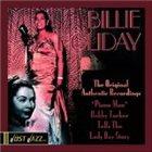 BILLIE HOLIDAY Just Jazz: The Original Authentic Recordings album cover